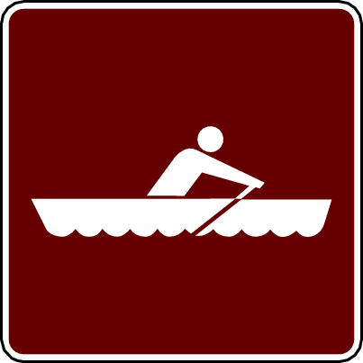 recreation sign rowboating