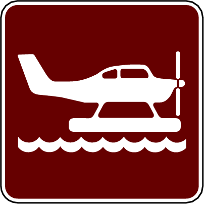 recreation sign seaplane