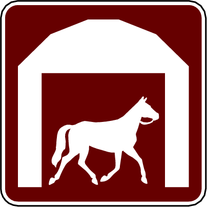 recreation sign stable