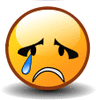 smiley crying clip art