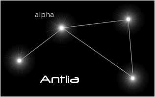 constellation antlia black