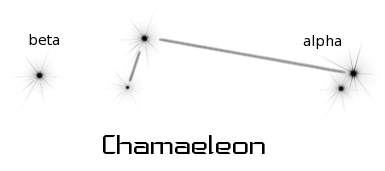 constellation chamaeleon