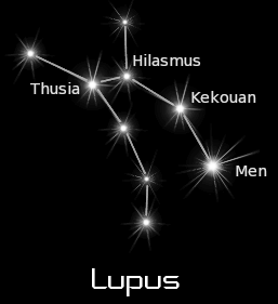 constellation lupus black