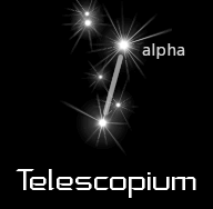 constellation telescopium black