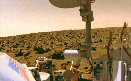 viking 2 on mars