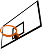 Basketball rim clip art