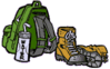 hiking gear clip art