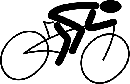 cycling fast icon