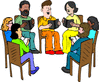 reading club clip art