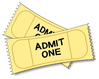 tickets clip art