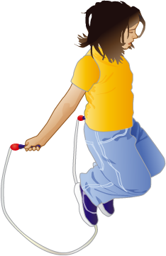 girl jumprope