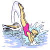 diving clip art