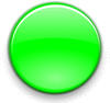 Large icon lime button clip art