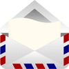 envelope air mail clip art