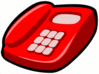 red telephone 02 clip art