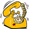 telephone cartoon clip art