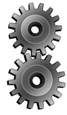 gray gears large