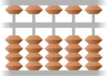 simplified Japanese abacus