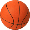 Basketball large clip art