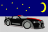 auto car Ford scene clip art