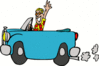auto car ride clip art