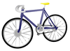 bicycle 01 clip art