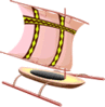 boat Outrigger clip art