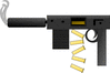 machine gun clip art